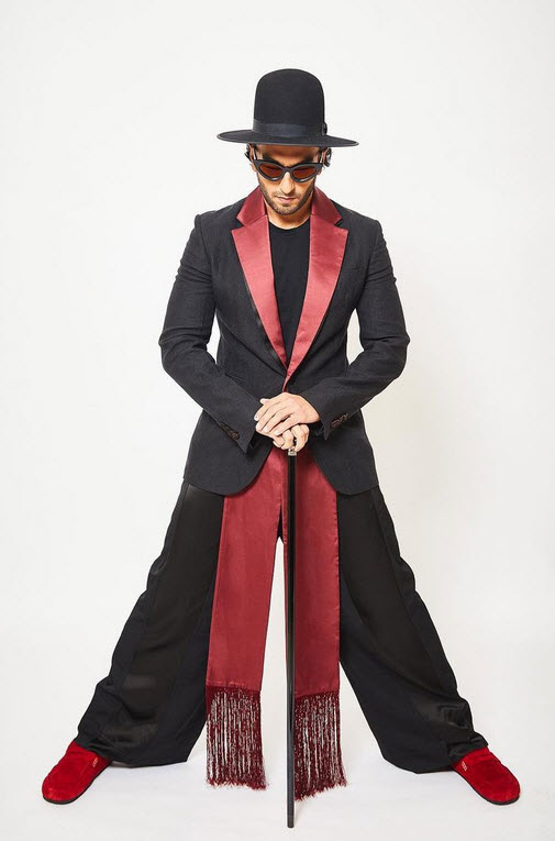 Ranveer Singh Kind of Fashion Lifehyme
